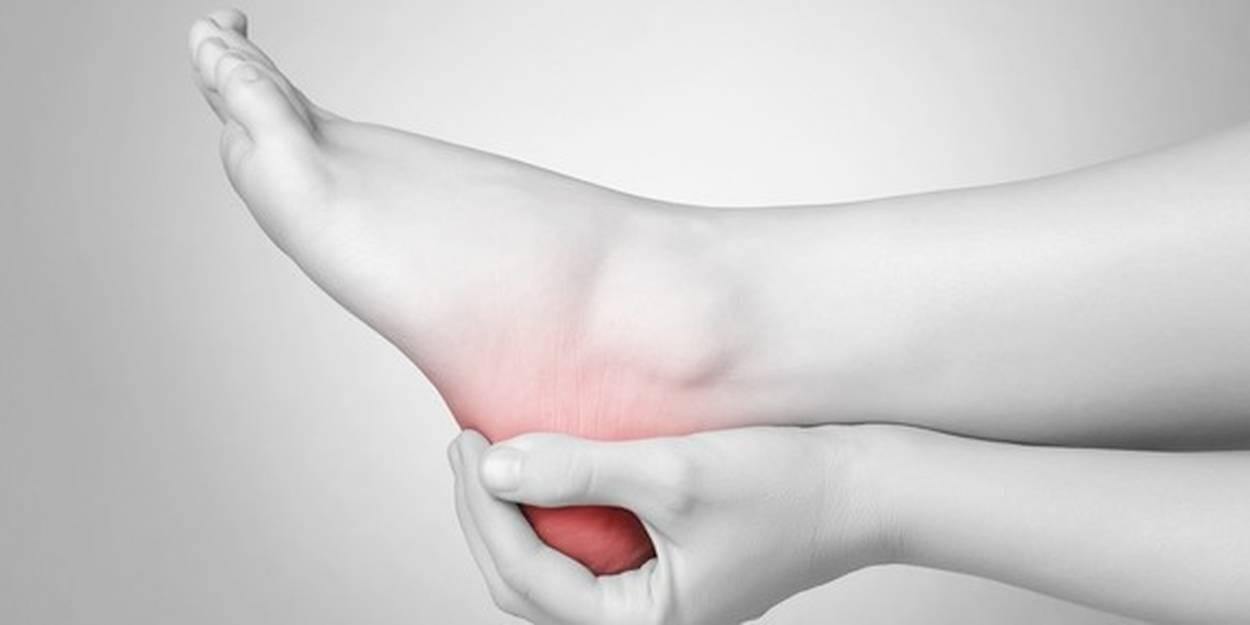 Douleur talon gauche signification